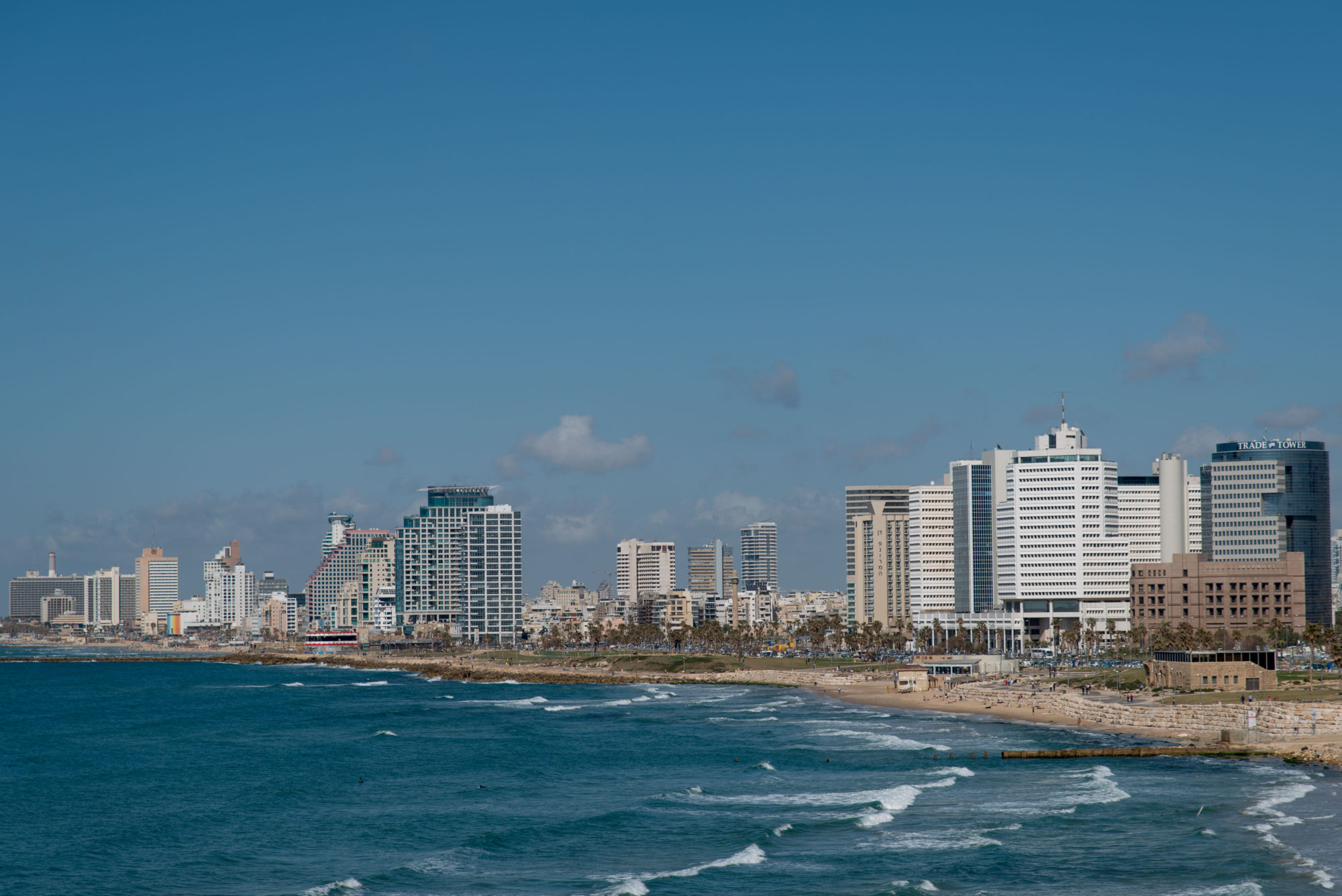 Tel Aviv Jaffa skyline - Anton Mislawsky photographer