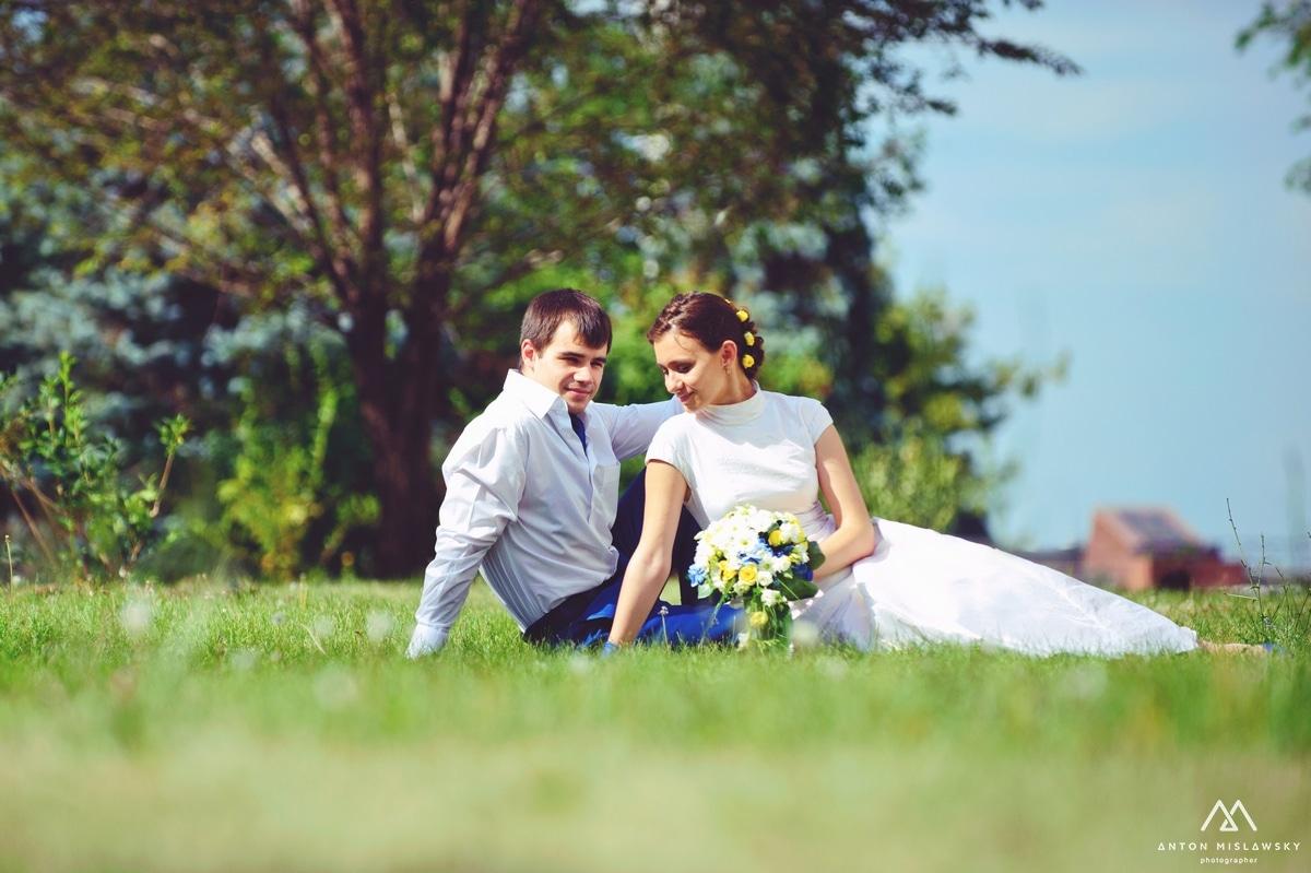 Свадебная фотосессия Влада и Екатерины
