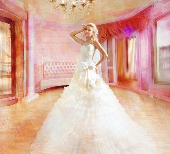 """Фотосессия для журнала """"Стиль и Свадьба"""" в салоне Сонет"""